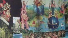 """Carrières de lumières - Les Baux de Provence - JL 2017.....интерактивная выставка погружения в""""Босха, Брейгеля, Арчимбольдо - Фантастические и прекрасные"""".Три художника 16 века до 7 января 2018 года. В Ле-Бо-де-Прованс.."""