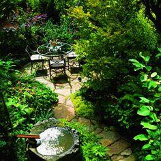 Lush Dining Terrace