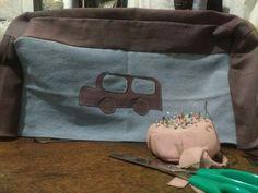 Sewing machine cover (car)