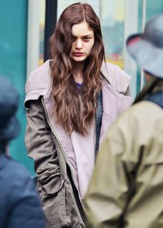""" Bella Heathcote as Leila on Fifty Shades Darker set, March 02nd """