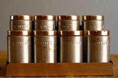 Gorgeous mid-century spice rack