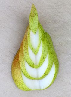 How to cut pears and impress your guests. Check out the many ways you can create edible art.