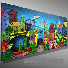 Handgemalte Bilder Kaufen nachtruhe 160 x 100 cm 750 bilder kunst gemälde