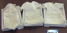 Woman Turns Wedding Dresses Into 'Angel Gowns' For Newborns Who Don't Make It Home