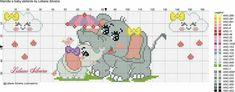 Elephant Cross Stitch, Cross Stitch Baby, Cross Stitch Patterns, Cross Stitch Boards, Animal Decor, Cross Stitching, Safari, Chevron, Projects To Try