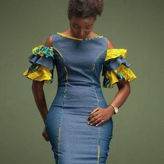 Short African Dresses, Latest African Fashion Dresses, African Print Dresses, African Print Fashion, African Fashion Traditional, Malu, African Attire, Fashion Outfits, Teen Outfits