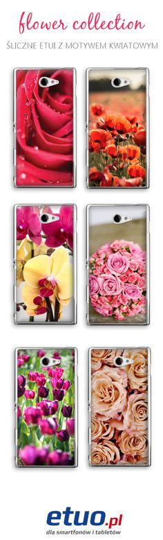 Motywy kwiatowe:) Idealne dla wielbicielek delikatnych i subtelnych wzorów