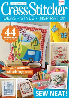 Cross Stitcher Magazine - June 2014 279 - CrossStitcher