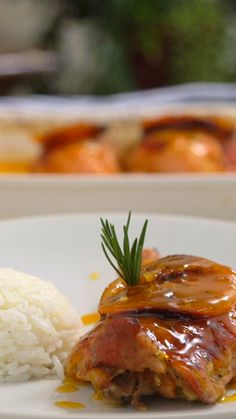 A incrível combinação do frango com a laranja dão um toque super especial para esse prato!