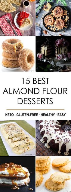 Just because you're on a low-carb diet, doesn't mean that you always have to pass on dessert. Using almond flour is a great way to makeover many different kinds of delicious baked goods to make them low-carb. Instead of making them with wheat flour and sugar, just turn them into low carb almond flour desserts!Almond [...]