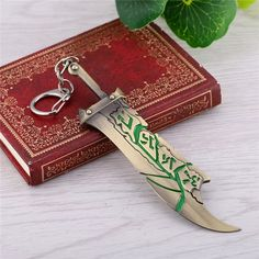 LEAGUE OF LEGENDS Riven The Exile Sword Keychain