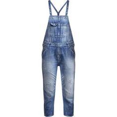 Pepe Jeans COSTER Ogrodniczki blue