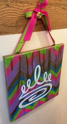 Zeta Tau Alpha Chevron Metallic Drip Five Point Crown by tealejane, $30.00