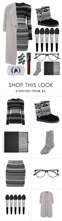 """Untitled #962"" by grey-eyed-freak ❤ liked on Polyvore featuring Proenza Schouler, Muk Luks, James Perse, Lands' End, T By Alexander Wang, EyeBuyDirect.com, Sephora Collection, Dorothy Perkins and NARS Cosmetics"