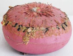 Antique Vintage Pin Cushion Sewing Haberdashery
