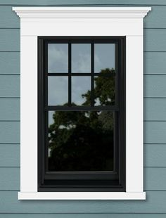 Exterior Window Trim Ideas Bonus Room Ideas Pinterest