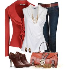 CARDIGANS WITH A TWIST, created by tufootballmom on Polyvore