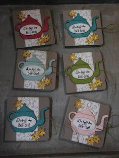 Kreativ am Deich : ....schon wieder Tee....