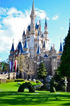 Disneyland, Tokyo, Japon.