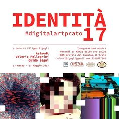 My works exhibited at IDENTITÀ 17 - #digitalartprato - 17.03.17  #data #dataart #art #design #datavisualization #network #graph #digital #digitalart #digitalartprato #pics #frame #information #informationdesign #creative #pixel #exhibition #print #canvas #canvasart #illustration #illo #portfolio #infographic #infographics #graphic #graphics #graphicdesign