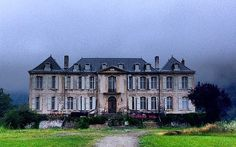 Chateau de Gudanes currently being renovated.
