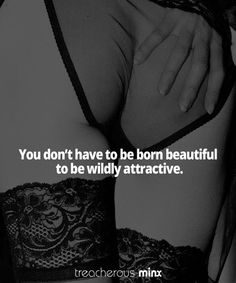 Click through and find your wild side! #beauty #quote #wild #sex