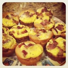 Bacon Egg and Cheese Biscuit Cups. Best with Grands biscuits layered thin.