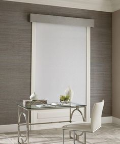 Designer Roller Shades offer improved window aesthetics with premium style! These shades are designed to operate effortlessly and silently for the ultimate window solution! Fabric Blinds, Wood Blinds, Fabric Shades, Curtains, Window Coverings, Window Treatments, Commercial Blinds, Modern Roman Shades, Aluminum Blinds