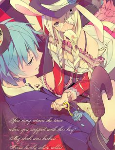 Anime Alice In The Wonderland