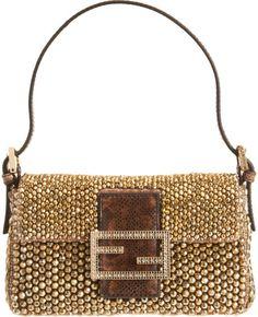 64b43bdd2782 Mini Beaded Baguette Bag - Lyst Stylish Handbags, Best Handbags, Luxury  Handbags, Best