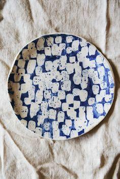 Lauren Bamford 18cm plate 02  Mr Kitly