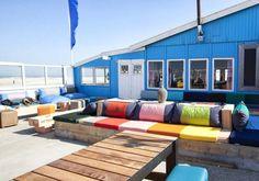 Holland Cities, Visit Holland, Holland Beach, Big Pillows, Beach Club, Outdoor Furniture, Outdoor Decor, Where To Go, Sun Lounger