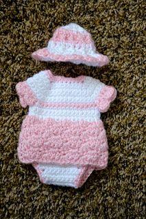 One Piece- Angel Baby Diaper Dress Pattern