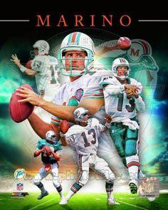 Dan Marino 2013 Portrait Plus Football Memes, Nfl Football, Football Stuff, American Football, Football Players, Football Season, Miami Dolphins Memes, Dolphin Quotes, Dolphins Cheerleaders