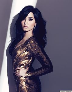8beca58e848 PHOTOS  Demi Lovato Cleans Up For Fashion Magazine