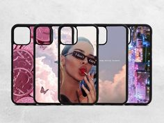 Aesthetic phone case. You can select one of our cases or upload your own photo. Perfect gift for christmas, thanksgiving, birthday for men, women or friends. ✅ABOUT THE CASES Hard Rubber Protective Borders. To Protect Your Device From Damaging The Screen Or Any Other Damages. These Rubber Sides