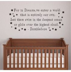Adorable Harry Potter Things Your Baby Needs This wall decal featuring Dumbledore's timeless wisdom. 27 adorable harry potter things your baby needs.This wall decal featuring Dumbledore's timeless wisdom. 27 adorable harry potter things your baby needs. Baby Harry Potter, Harry Potter Fiesta, Harry Potter Nursery, Theme Harry Potter, Harry Potter Quotes, Hogwarts, Baby News, Youre My Person, New Wall