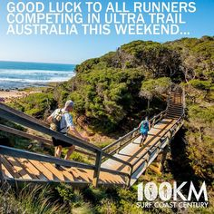 Good luck to all runners tackling UTA this weekend. And when you get sick of the Blue Mountains stairs we welcome you down to the Surf Coast Century where this is about the only set of stairs on the whole course  located right next to Bells Beach! #surfcoastcentury #ultratrailaustralia #uta #surfcoast #shutuplegs by rapidascent http://ift.tt/1N3tJAU