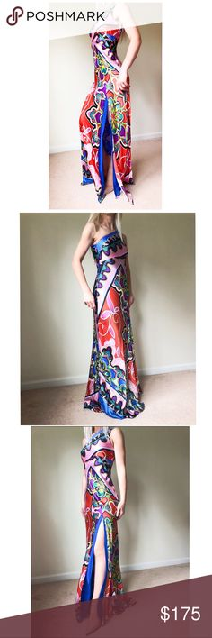 Cache Silk dress Cache absolutely stunning one shoulder dress. Cache Dresses