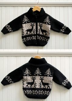 Erika Knight Vintage Reindeer Jacket Best Picture For knitting christmas presents For Your Taste You Baby Knitting Patterns, Baby Boy Knitting, Knitting Blogs, Knitting Wool, Fair Isle Knitting, Knitting For Kids, Free Knitting, Knitting Needles, Wool Yarn