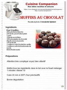 Recette avec chocolat