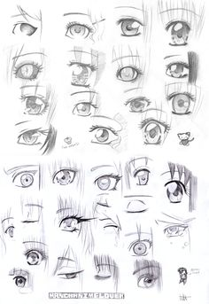 Here is the second installment of my ever popular Manga Eyes picture. I did this one as a study of just boy or men manga eyes. Drawing Eyes, Manga Drawing, Drawing Sketches, Drawing Hair, Manga Tutorial, Eye Tutorial, Art Manga, Anime Art, Manga Anime