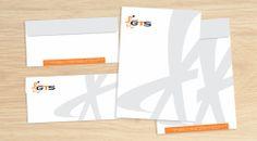 Envelope produzido para a empresa GTS.