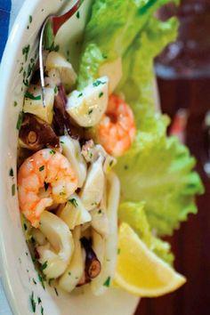 insalata di frutti di mare