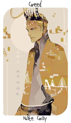 Cassandra Jean's virtues and vices series: Nate, representing greed, since greed for power and money got him into the mess he was in, after all.