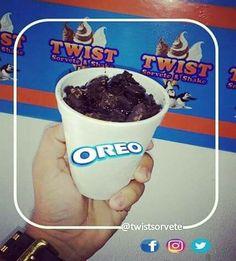 Twist Soft Oreo sorvete misto, da Twist Sorvete & Shake Av. Primeiro de Maio,665 Jaguaribe João Pessoa-PB Siga 📸@twist.sorvete