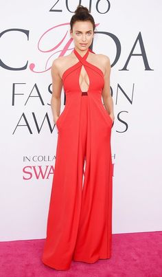 Irina Shayk at the 2016 CFDA Fashion Awards