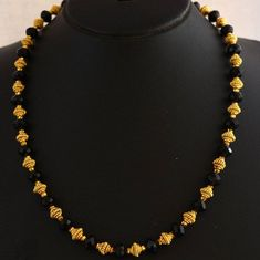 Buy Fancy necklace set - 2 Online Thread Jewellery, Temple Jewellery, India Jewelry, Gold Jewelry, Beaded Necklace Patterns, Necklace Designs, Jewelry Patterns, Beaded Earrings, Beaded Jewelry