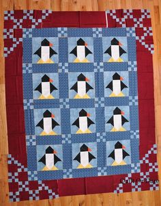 Quilt Or Dare: Penguins
