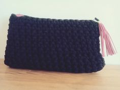 Handmade crochet bag..